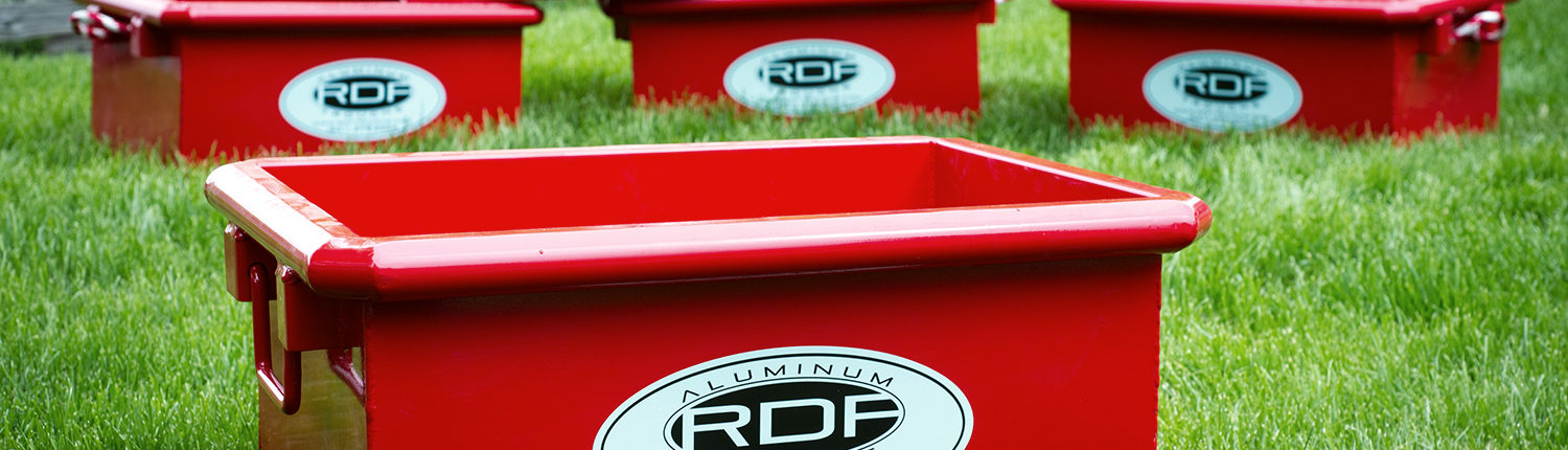 RDF metal troughs